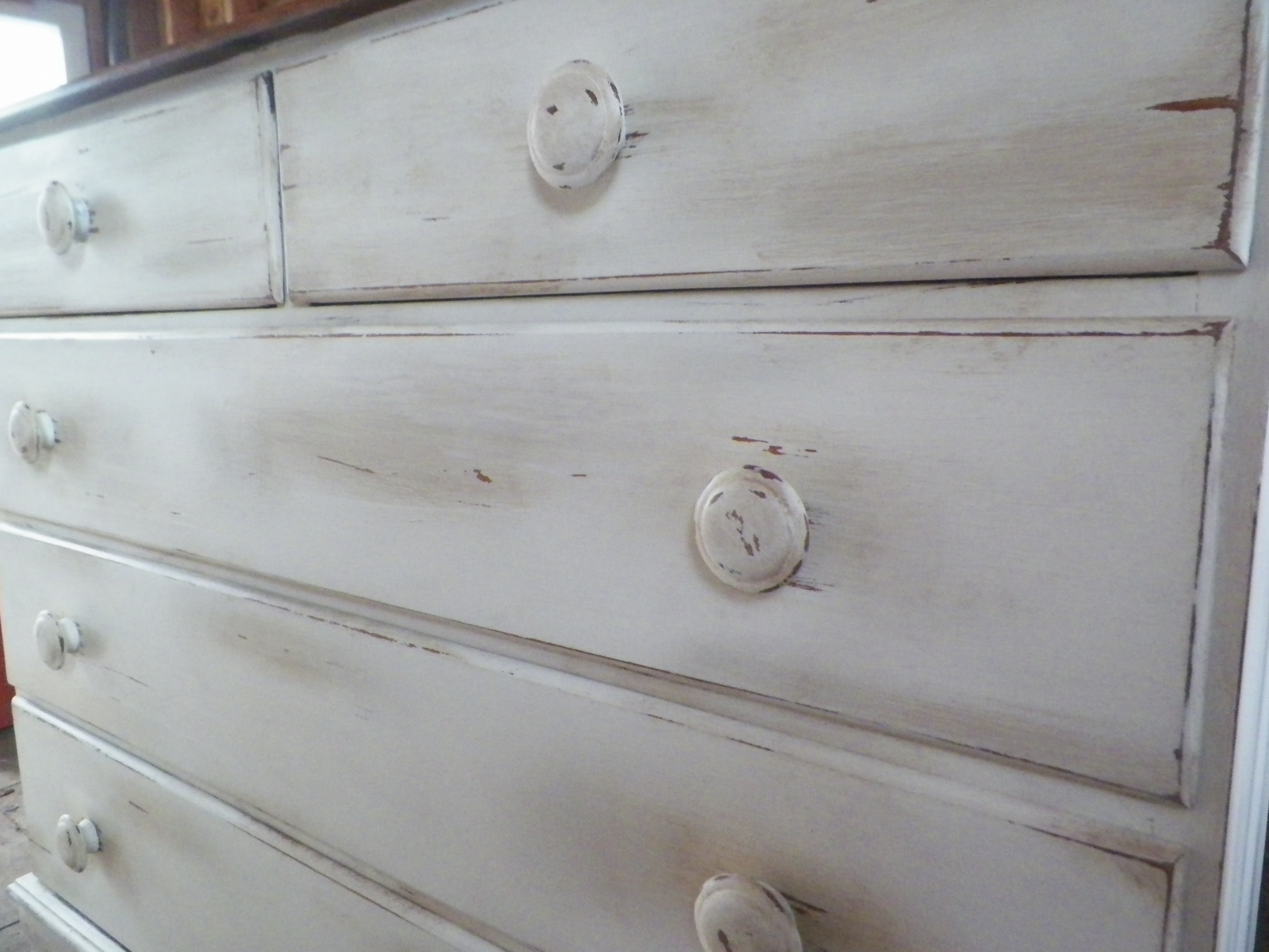 Shabby Chic Chest Of Drawers 3