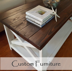custom furniture coffee end console side table