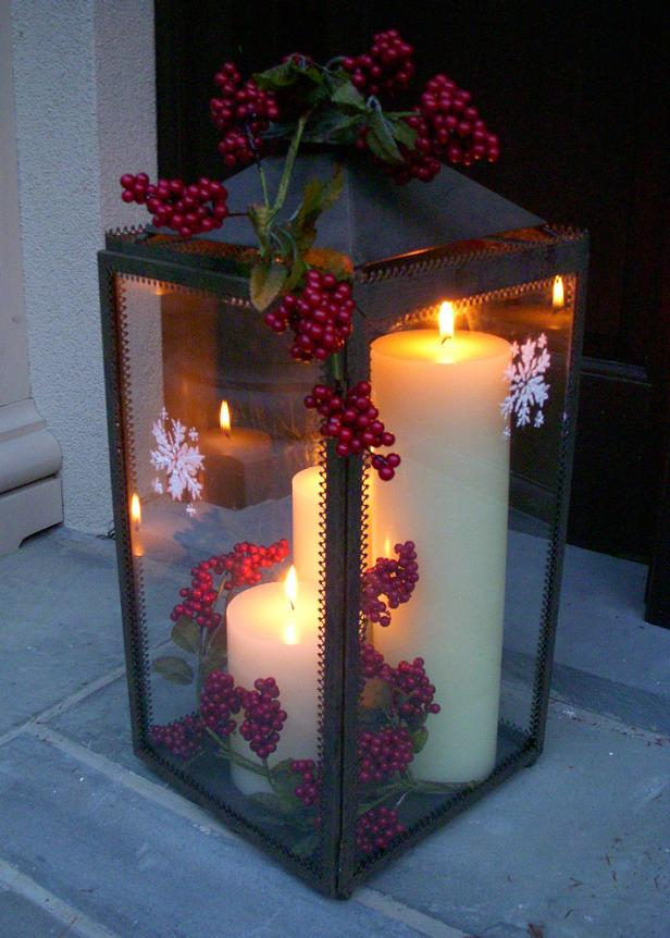 Creating a Christmas Lantern | Easy Crafts and Homemade Decorating ...