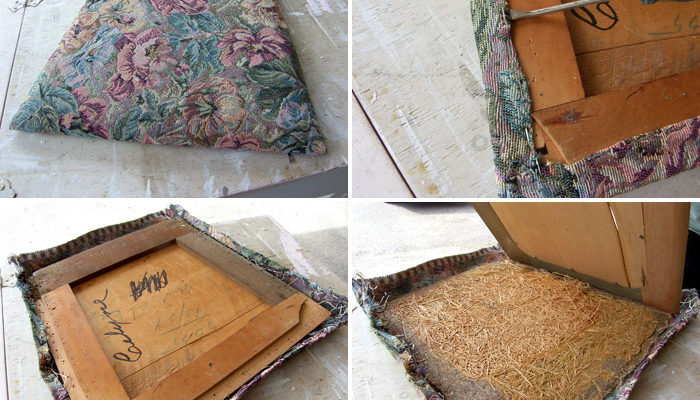 How to Reupholster a Chair Seat – The D.I.Y. Dreamer
