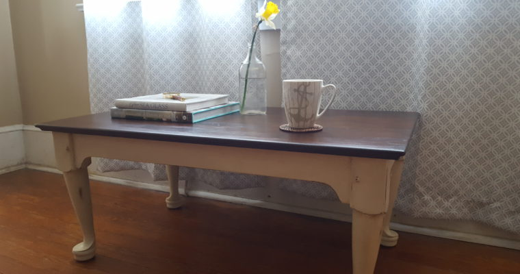 Lovely Off White Coffee Table
