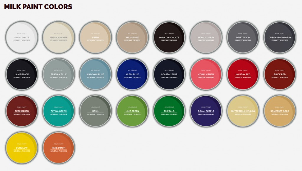 Paint Color Selections