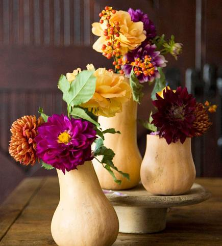 Earthy Fall Vases