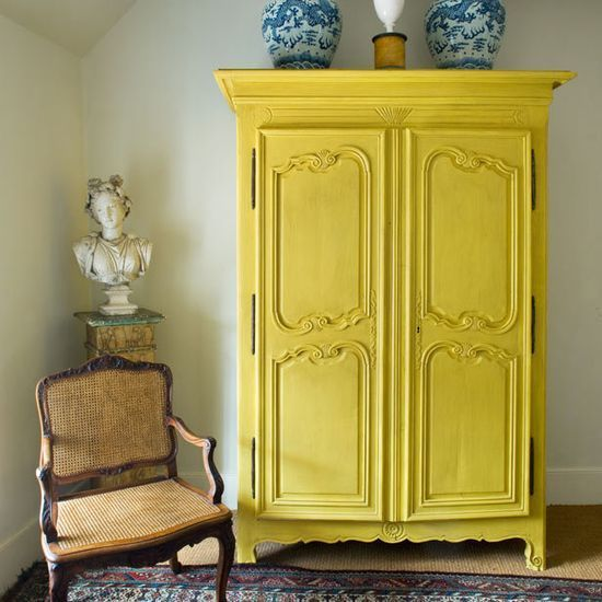 English Yellow Furniture Paint